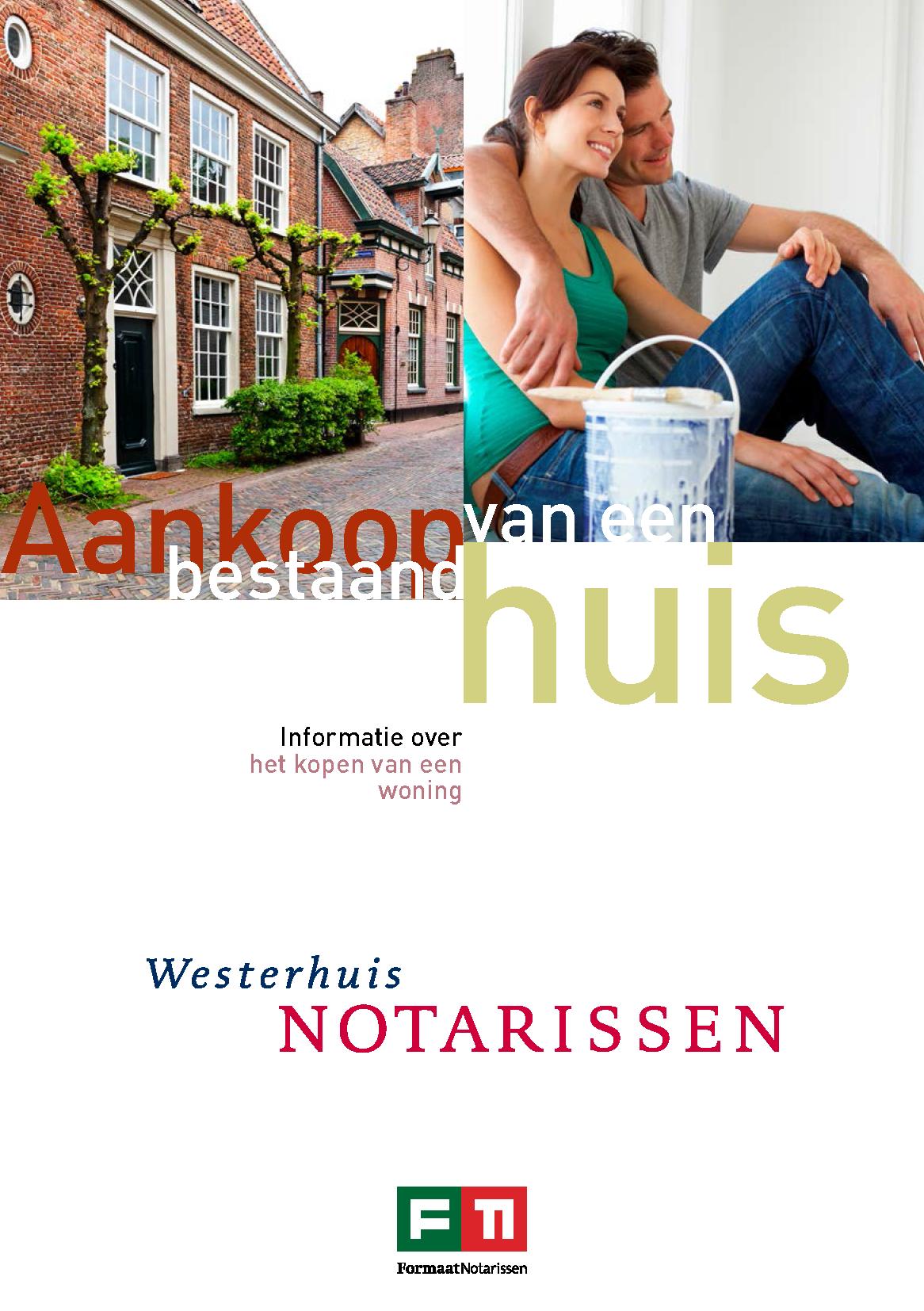 Brochure aankoop bestaand huis
