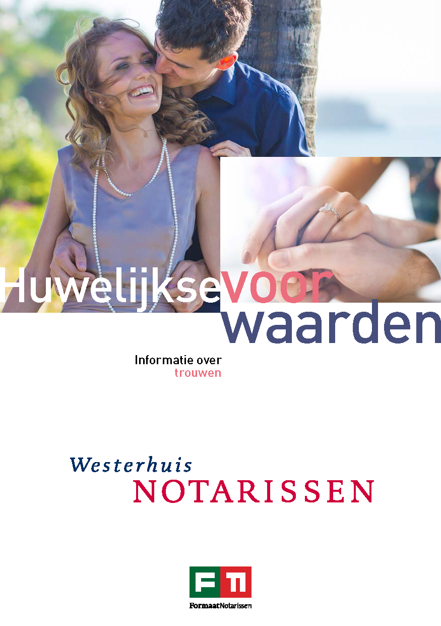 Brochure huwelijkse voorwaarden