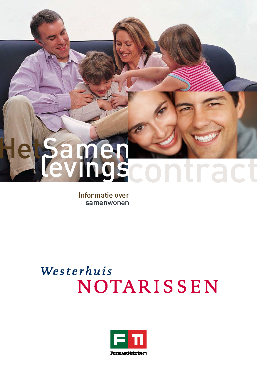 Brochure samenlevingscontract